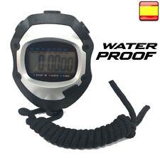 Cronómetro digital Deportivo temporizador Reloj WATERPROOF atletismo natación