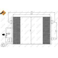 Nrf clima condensador aire acondicionado clima radiador para Skoda VW 2616618