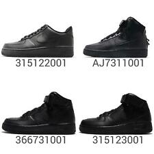 Nike Air Force 1 07 / Mid / Hi All Triple Black Out Men Women Kids Junior Pick 1