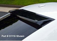 Fits 11-20 Chrysler 300 GTS Solarwing Acrylic Smoke Rear Window Deflector 51118