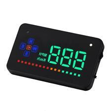"Head Up Display 3.5"" A2 GPS Car Overspeed Warning Speedometer Cigarette Port WT"