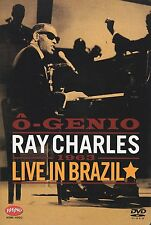 Ray Charles - O-Genio: 1963 Live in Brazil  DVD Ray Charles Region 2 / 3 / 4 / 5