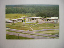 VINTAGE POSTCARD VIEW OF THE MOTEL CAROUSEL IN DOTHAN ALABAMA UNUSED