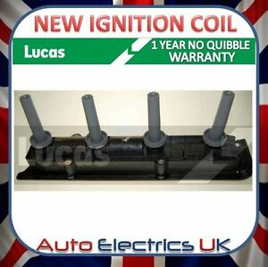VAUXHALL FIAT IGNITION COIL PACK NEW LUCAS OE QUALITY