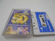 JUEGO 50 GAMES ON ONE  CASSETTE FANTASTIC SPECTRUM SINCLAIR ZX 48 128K.COMBINO E