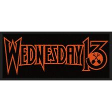 Wednesday 13-patch écusson-Logo 10x5cm