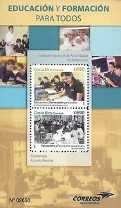 COSTA RICA EDUCATION FOR ALL Sc 668 MNH 2015