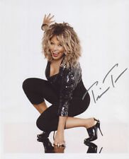 Tina Turner SIGNED Photo 1st Generation PRINT Ltd, No'd + Certificate / 4