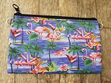 Vintage Tropical Flamingo Purse - Rockabilly Island Holiday Clutch Bag