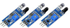 3 Stück Infrarot IR Line Tracker Reflexlichtschranke 2-30cm LM393 f Arduino