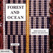 HIRINI MELBOURNE - FOREST AND OCEAN (CD) BIRD SONG / BRAND NEW NOT SEALED