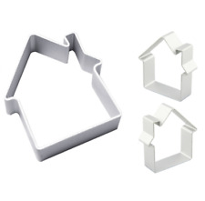 House Shaped Cookie Cutter Sugarcraft Cake Decorating Baking Pastry Mould Tools
