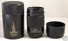 JUPITER-37A 135mm f3.5 M42 Pentax Screw Lens USSR Soviet MOSCOW 1980 OLYMPICS