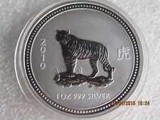 Australien 1 Dollar - Lunar-Serie I - Tiger - letzte Münze- 2010 - selten