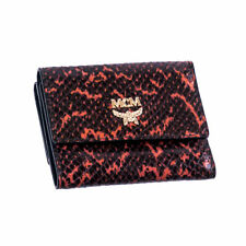 100% Authentic MCM Women Wallet Purse in Heritage Black MYS3AGR03RE001