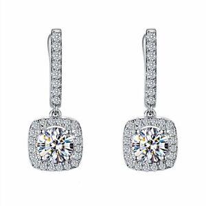 Earrings Bridal Engagement Wedding Jewelry Elegant Female Dangle Earring