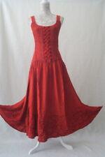 Halloween hippy pagan medieval corset gothic pixie steampunk dress Size 12 14 16