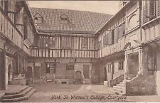St. William's College Courtyard, YORK, Yorkshire