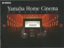 Yamaha Katalog / Prospekt DSP-A1 DSP-A2 RX-V2095 NS-G100 uvm.