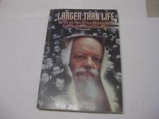 Larger than life I The life and times of Lubavitcher Rebbe CONTROVERSIAL Deutsch