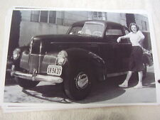 1940 STUDEBAKER CHAMPION  WITH JUDY GARLAND 11 X 17  PHOTO /  PICTURE