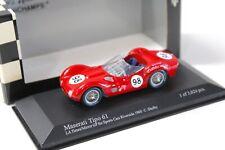 1:43 Minichamps Maserati Tipo 61 La Times C.Shelby #98 NEW bei PREMIUM-MODELCARS
