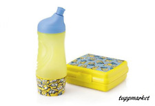 TUPPERWARE MINION MADE DESPICABLE ME Sports Bottle + Sandwich BOX Special Offer
