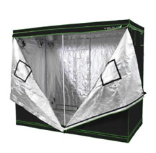 "Yield Lab 2 Door 96"" x 48"" x 78"" Reflective Grow Tent with Viewing Window C4"