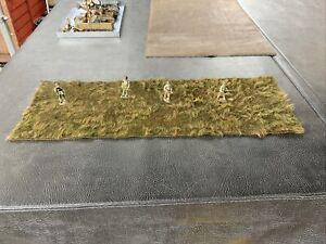 JG MINIATURES King & Country Thomas Gunn First Legion Diorama Display Mat Grass