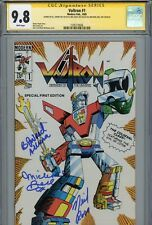 ~~ VOLTRON #1 CGC 9.8 SS Authentic Hand-Signed B.J.WARD-MICHAEL BELL-NEIL ROSS ~