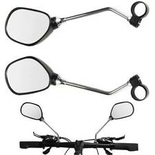 1Pair Bicycle Handlebar Mirror Cycling Bike Rear Wide Range View Safety Rearview