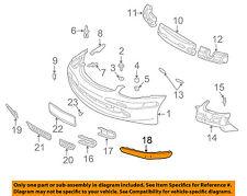Mercedes MERCEDES-BENZ OEM SLK230-Bumper Trim-Molding Trim Right 17088504215372