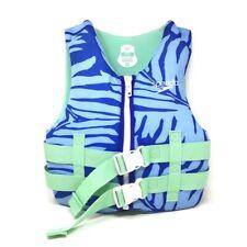 Speedo CB Youth PFD Life Jacket Vest Blue Green Kids 50-90lbs