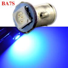 4pcs Blue LED POSITIVE Earth 12V BA7s Dashboard Light Bulbs Bright Xenon Lamps