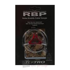 Tektro RETRO RBP Triangle Bremskabelträger V-Brake Rot eloxiert 8g Fahrrad MTB