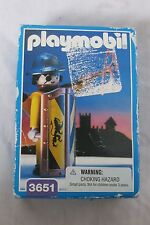NEW VINTAGE~PlaymobIl~3651~MEDIEVAL KNIGHT FOOT SOLDIER-ARCHER~BOWMAN~1993
