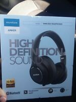 Anker Soundcore Vortex Wireless Over-Ear Headphones 20H Playtime SEALED