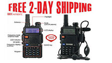 Portable Radio Scanner Handheld Police Fire Two Way Transceiver VHF FM EMS HAM.