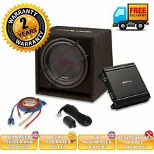 Complete Alpine subwoofer Alpine amplifier package + wiring kit SBG-30KIT pack