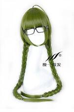 Kuroko no Basket Midorima Shintaro Twin braids Cosplay Wig