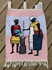 South African Woven Wall Tapestry Philani Employment Project Wall Tapestry