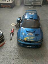 kyosho nitro rc car subaru impreza extra engine and shell loft find