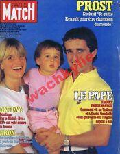 Paris Match n°1796 du 28/10/1983 Alain Prost Raymond Aron Bordeaux vin Margaux