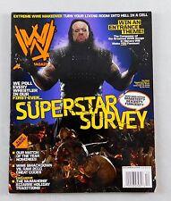 The Undertaker December 2009 Poster Magazine Raw WWE WWF Smackdown