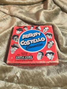 Rare Vintage Abbott & Costello comedies super 8mm film no 818  w/original box