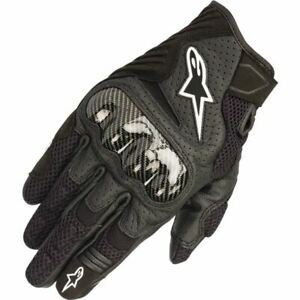 Alpinestars SMX-1 Air V2 Vented Leather Motorcycle Glove - Black, All Sizes