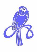 Parrot,whose a pretty boy then! Stencil 350 micron Mylar not thin stuff #Bird003