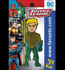 DC COMICS~AQUAMAN~New 52~FanSets Pin~MicroJustice~Brand New in Sealed Package