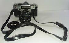 New listing Petri Penta Black Camera 913447 Orikkor Lens No. 78985 1:2 f=50mm Not Tested