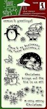 Inkadinkado Clear Stamps --  Christmas Characters